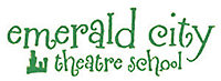 logo - theatre school (new) - green